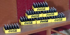 3  COCA COLA CASE  (24 BOTTLES IN A CASE)  COKE   1:48 O Scale NEW *