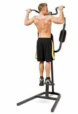 Apex Power Tower Fitness Station Gym Home Chin Pull Up Dip Exercise Push Bar NEW