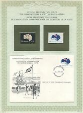 FIRST DAY OF ISSUE / 1° JOUR / STAMP / TIMBRE ARGENT FETE NATIONALE AUSTRALIENNE