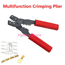 Multi functional HS-202B Portable Hand Crimping Tool Plier Terminals Crimpper