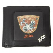 Jean Paul GAULTIER two-fold wallet(K-24324)