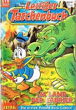 Lustiges Taschenbuch LTB Nr. 237 Im Land der Saurier 1. Auflage Top