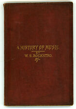 1880 -  A History of Music for the Use of Young Students.