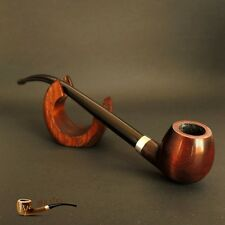 HAND MADE   SMOKING PIPE CHURCHWARDEN  LONG  Brown LORD HOBBIT   9.8""