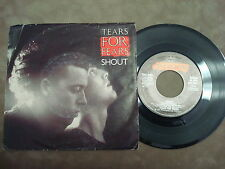 "TEARS FOR FEARS- THE BIG CHAIR/ SHOUT   ""SINGLE"""