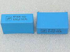 2 condensateurs 0,016uF 1500V 5% ERO KP1836