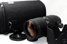*EXC* Sigma 70-200mm F/2.8 APO HSM EX Lens For NIKON w/ Hood, Case From JAPAN
