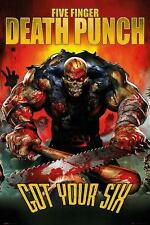 "FIVE FINGER DEATH PUNCH POSTER ""GOT YOU SIX"""