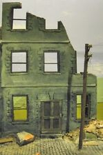 1/35 Scale  ~ Ruined European Town House Diorama model kit