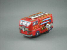 Tin Toy-  Mini Fire Engine Wind Up