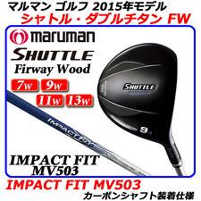 MARUMAN GOLF CLUB SHUTTLE FAIRWAY WOOD IMPACTFIT MV503 W11 R flex 2015 model