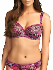 New Freya Instinct Underwired Plunge Balcony Bra 28E in Magenta