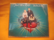 MAXI Single CD ACE OF BASE Lucky Love 3TR 1995 synth pop eurodance