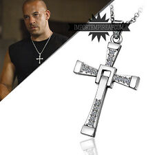 FAST AND FURIOUS COLLANA DOMIC TORETTO Necklace collier replica vin diesel croce