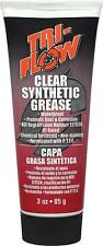 NEW Tri-Flow Clear Synthetic Grease with Teflon - 3 oz Tube