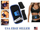 Newest AB Gymnic Slimming  Muscle Arm leg Waist Massage Belt-With 2 GEL Bottles