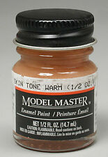 Testors Model Master Warm Skin Tone 1/2 oz Enamel Paint 2003 TES2003