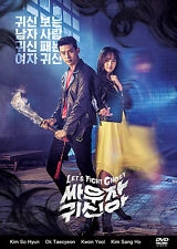 Let's Fight Ghost Korean Drama (4DVDs) Excellent English & Quality!