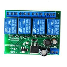 4 Channel Relay Module Board Bluetooth 4.1 BLE for  Android Apple Phone IOT