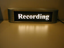 RCA  ON AIR RECORDING  STUDIO SIGN MINT ORIGINAL