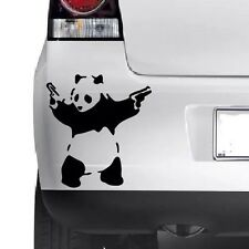 Banksy Panda STICK Em Up Divertenti Auto / Van / paraurti / Finestrino notebook vinile decalcomania adesivi