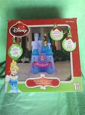 2015 DISNEY CINDERELLA CASTLE CHRISTMAS DECORATION OUTDOOR - INFLATABLE