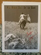Wild Women Don't Get the Blues by Carolyn Gage, Signed card.