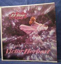 101 Strings the Sparkle and Romance of Victor Herbert vintage record vinyl LP
