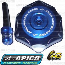 Apico Blue Alloy Fuel Cap Breather Pipe For Yamaha WR 450F 2015 Motocross Enduro