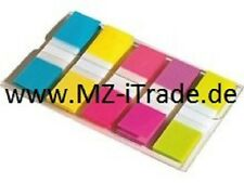 100 x Orig 3M Post-it Index Fähnchen incl. Spender Neonfarben Leuchtfarben Mini