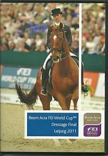 REEM ACRA FEI WORLD CUP DRESSAGE FINAL LEIPZIG 2011 DVD
