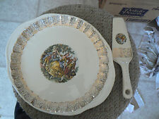 W.S. George cake plate and server (GEO69) 1 available