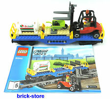 LEGO® City/ Eisenbahn (60052)Gabelstapler Waggon / Güterwaggon / Transportwaggon