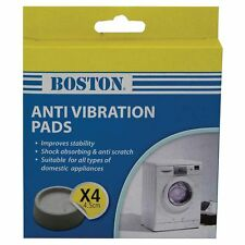 Boston Anti Vibration Pads 4pc 4.5cm - ideal for washing machines and dryers