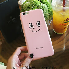 Cute Cartoon Smile Face Heart Cactus Hard PC Case Cover For iPhone 5S 6 6S Plus