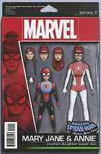 AMAZING SPIDERMAN RENEW YOUR VOWS 1 VOL 2 MJ ACTION FIGURE VARIANT NM