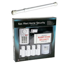 NEW (Set) Window Security Bar Locks Onto Frame & 6 Piece Alert Home System
