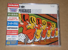 SUPERGRASS - ALRIGHT - CD JAPAN COME NUOVO (MINT)