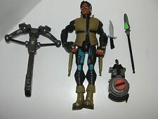 GI Joe Sigma Six Temple Tracker Spirit Iron Knife Hasbro NEAR COMPLETE 2005 6