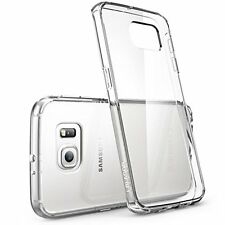 Galaxy S6 Edge Case, [Scratch Resistant] **Clear** [Genisys-accessories] Samsung