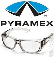 Pyramex Emerge Gray 1.5 Clear Full Reader Lens Reading Safety Glasses Z87+