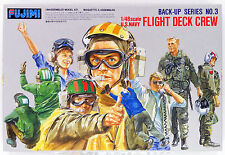 Fujimi Bup03 350035 US Navy Flight Deck Crew 1/48 scale kit