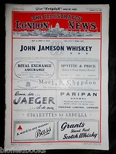 The Illustrated London News; March 29th 1952, Original Format Vintage Magazine
