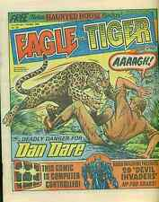 EAGLE & TIGER #164 British comic book May 11, 1985 Dan Dare (no badge) VG+