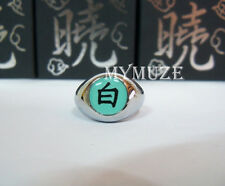 "Naruto Akatsuki Konan Cosplay Ring Symbol ""Bai"" Box Packed Anime"