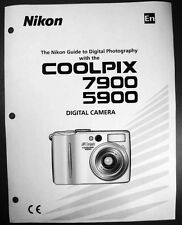 Nikon CoolPix 5900 7900 Digital Camera User Guide Instruction  Manual