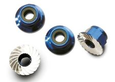 Traxxas [TRA] 4mm Blue Aluminum Wheel Lock Nuts TRA1747R 1747R