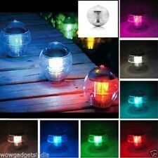 Solar Charging Multicolor Floating LED Landscape Night Lamp Waterproof Party LED