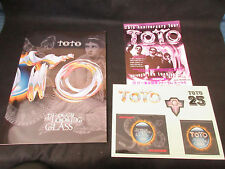 TOTO Through The Looking Glass 2002 Japan Tour Book Sticker Flyer Steve Lukather