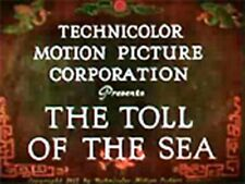 TOLL OF THE SEA, 1922, ANNA MAY WONG silent Colour drama w/music:DVD-R:Region 2